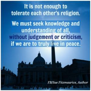 understand not just tolerate